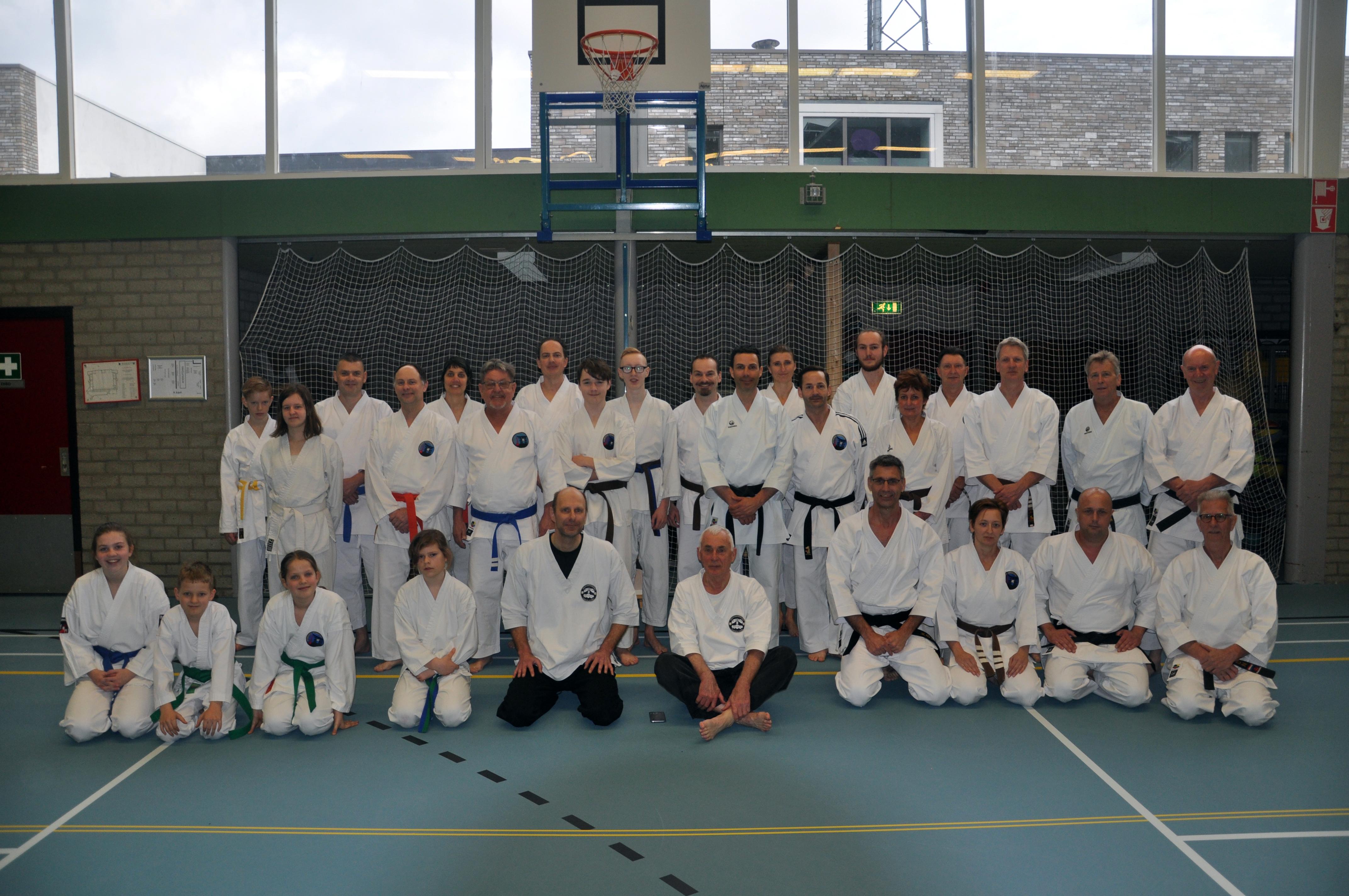 Zeer geslaagde Karate Jutsu clinic
